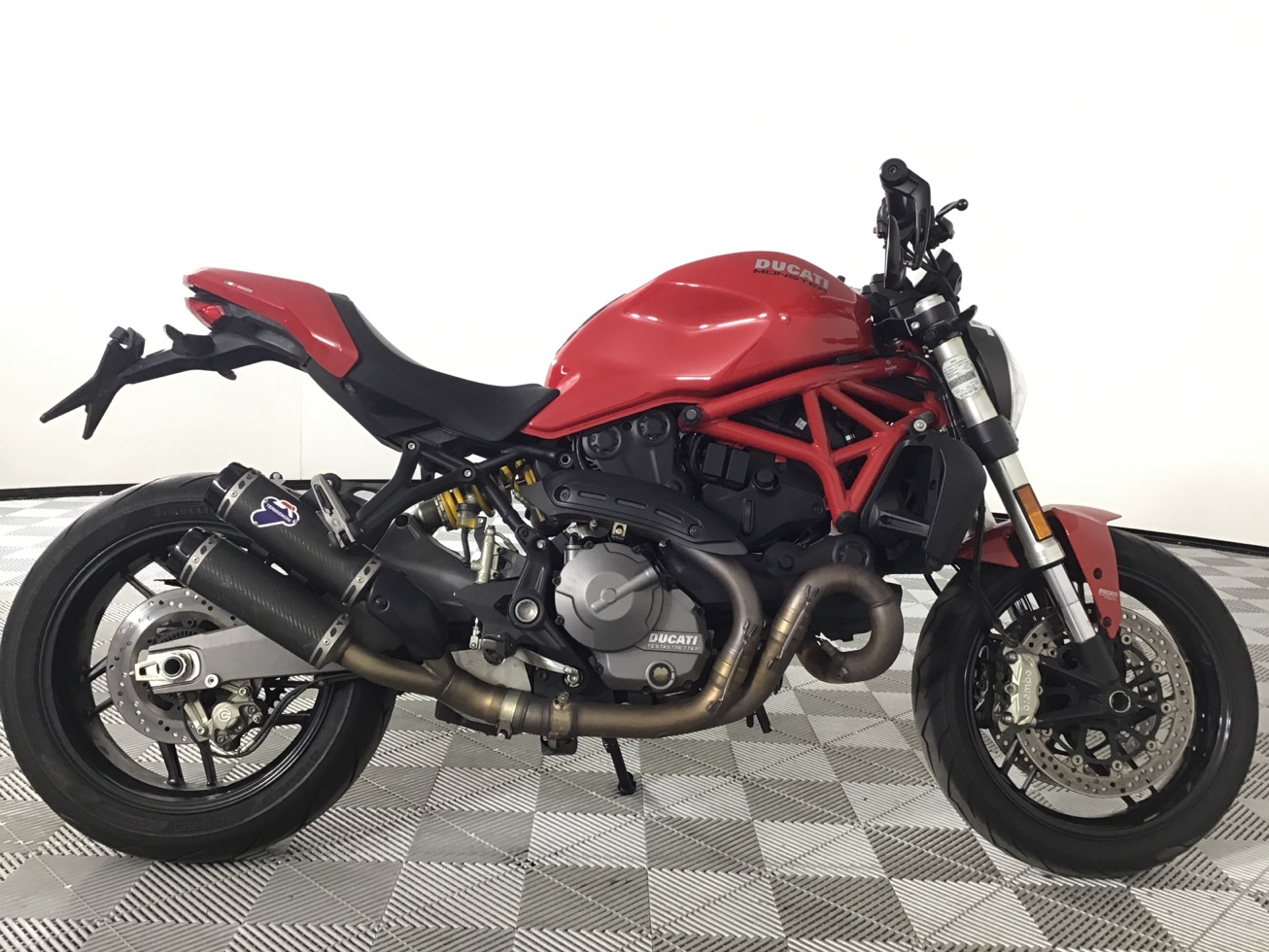 2018 Ducati Monster 821 Review • Total Motorcycle